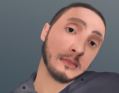 Digital Painting of Me 😍