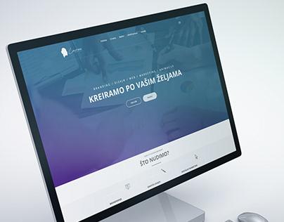 Lavrea - web design