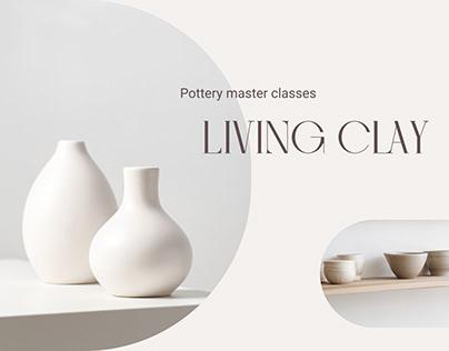 Web design of a pottery workshop