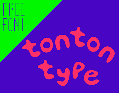 Tonton Type- Free Font