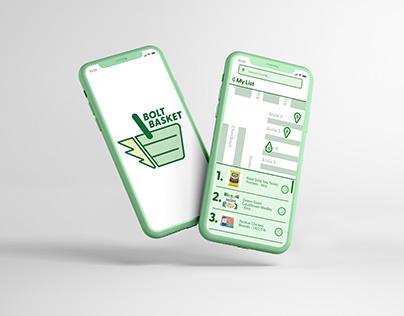 Bolt Basket App Design