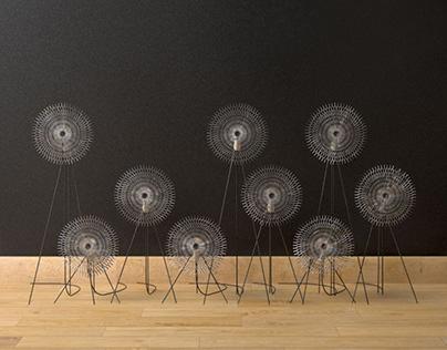 Lighting windmills