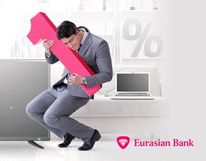 Kay visuals for Eurasian Bank