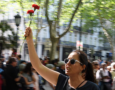 Protest of Carnation Revolution 2016