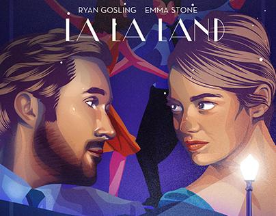 La La Land Art Poster
