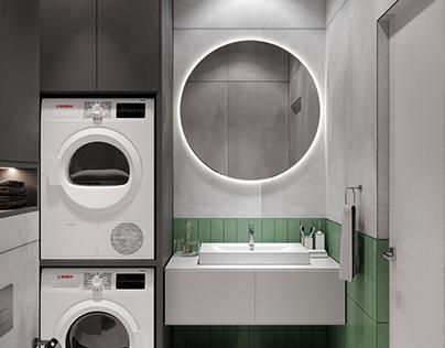 Bathroom visualization / Apartments in Kyiv