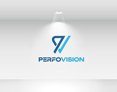 PerfoVision Logo Design
