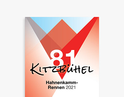 Rooster's Mountain / 81. Hahnenkamm Poster