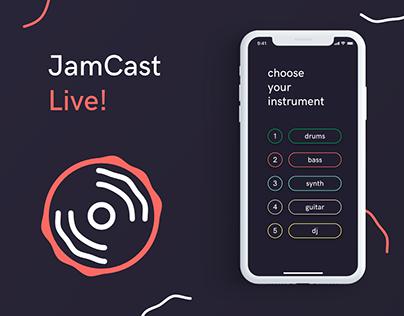 JamCast UI Design