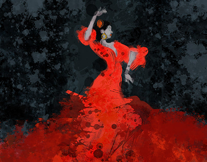 Graphic Project:DANCE/Flamenco