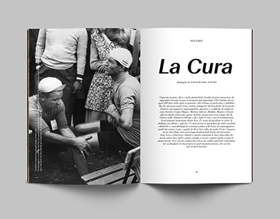 La Cura → Visual storytelling for Polvere