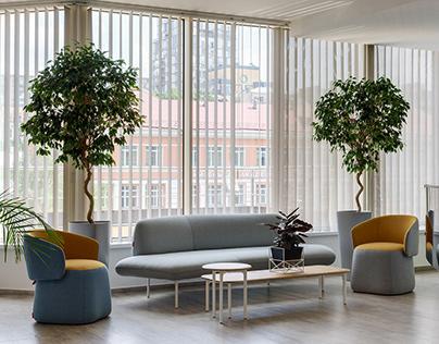 Haworth furniture for Microsoft Kiev 2017
