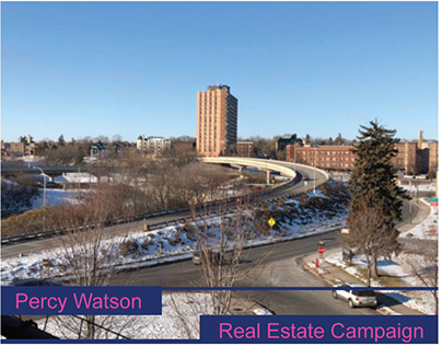 Percy Watson   Real Estate Campaign