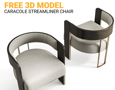 FREE 3D MODEL : Caracole Streamline Chair