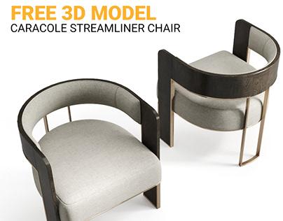 FREE 3D MODEL : Caracole Streamline Chair