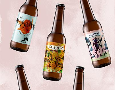 Ural's Craft _ Beer label