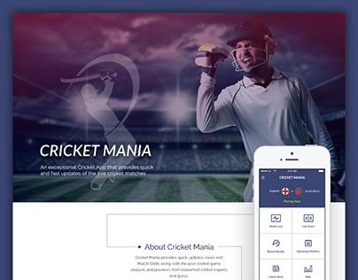Cricket Mania