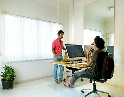 The Floating Table Office, Bangalore