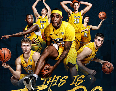 2018-19 Toledo Basketball Poster