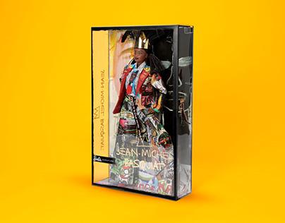 Jean Michel Basquiat™ Barbie® Doll Packaging
