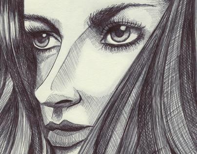 Chris Xavier Art - Sketches