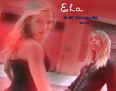 CD cover art for As He Touches Me
