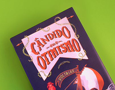 Cândido ou o Otimismo [Editorial Design and Lettering]