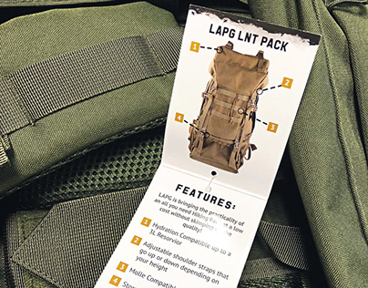 Tactical Product Folding Tags & More