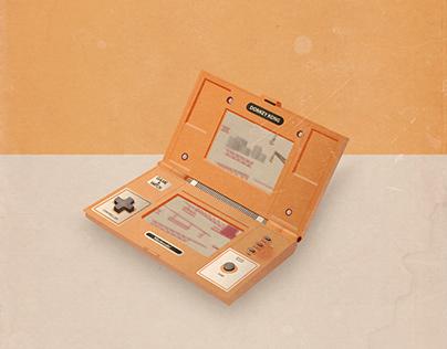 Nintendo Donkey Kong game illustration