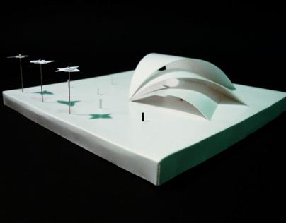 SUBWAY STATION | WHITE MODEL