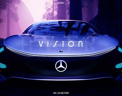 Mercedes-Benz | Vision AVTR - website