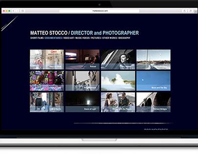 WEB DESIGN _ Matteo Stocco, Film Maker