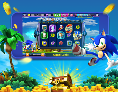 Sega Slot Game - UI Design