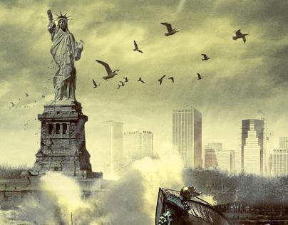 Zombilife.com.br - Statue of Liberty (Zombie)