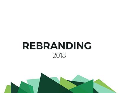 Rebranding 2018 inc. website design