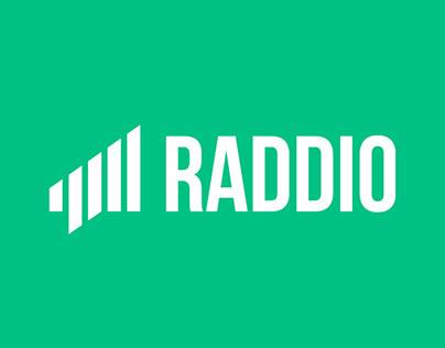 Raddio logo design