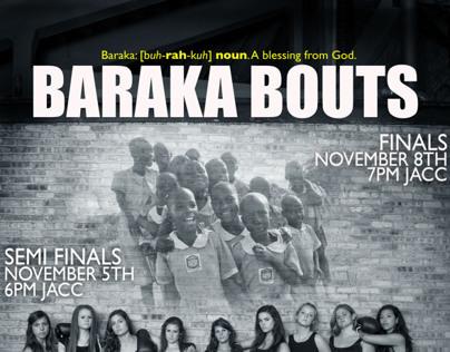 Baraka Bouts Poster