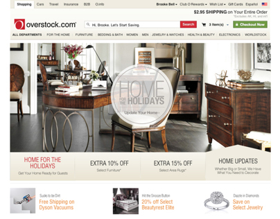 Banners/Mods: Overstock.com