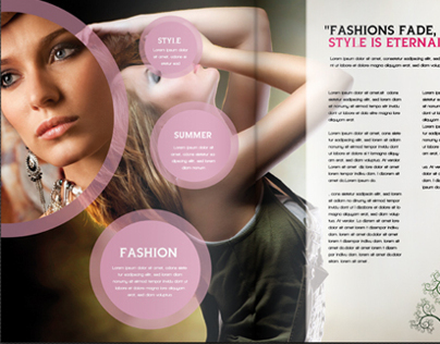 Stylish Fashion Brochure Vol.01