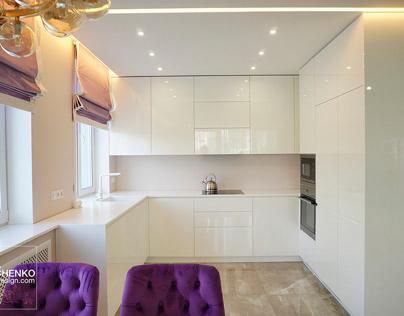 White interior neoclassic