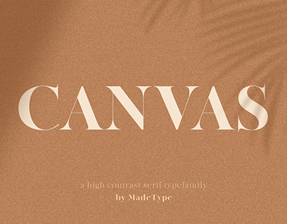MADE Canvas | Font