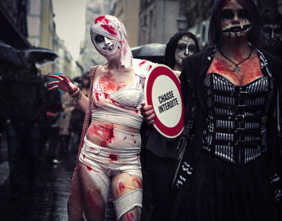 The Apocalypse - Zombie Walk Paris // 2012