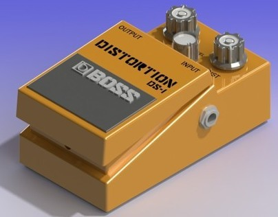 SolidWorks Project - Boss Distortion Pedal