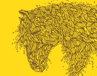 Horsey Illustration