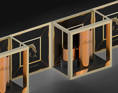 ESSENCE OF GOLD STURGEON •• product display design