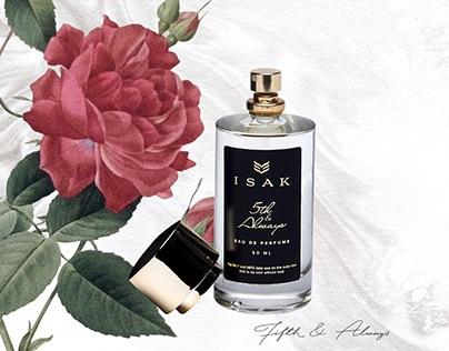 ISAK Artisanal Fragrances: Catalogue Design