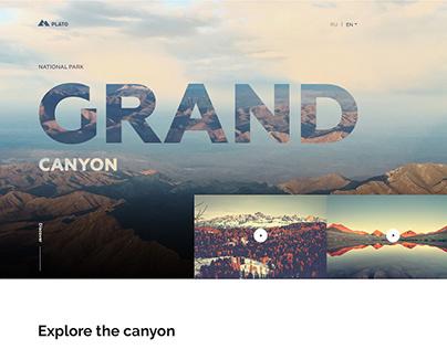 Веб дизайн Grand canyon