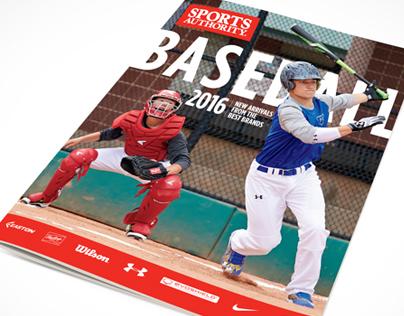 2016 Sports Authority Baseball Catalog