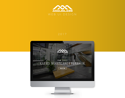 ADALIGLASS Web UI Design