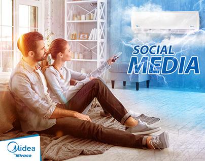 Midea Social Media Collection